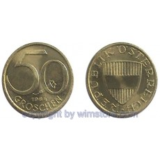 2. Republik, 50 Groschen 1959 2001, J 491, Ku/Alu S1747a